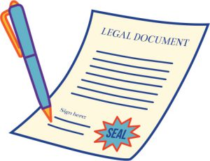 legal document